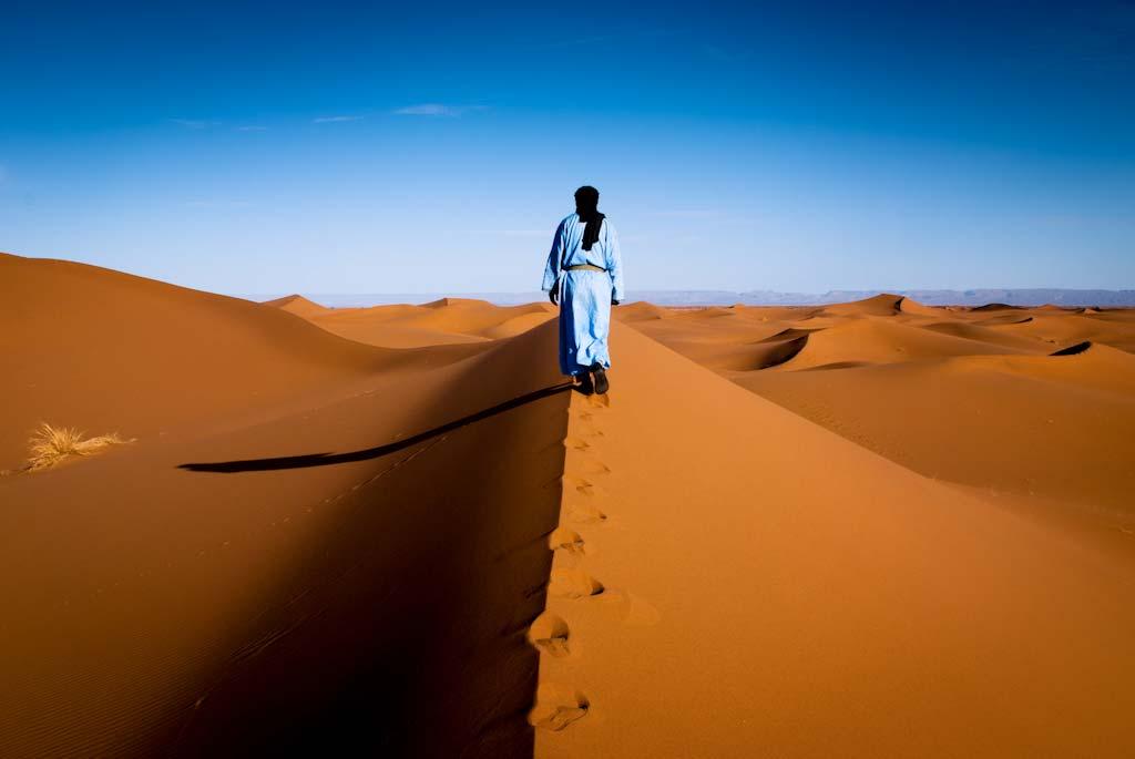 Randonnée chamelière au Maroc dans l'erg Chegaga - © acquimat-Flickr